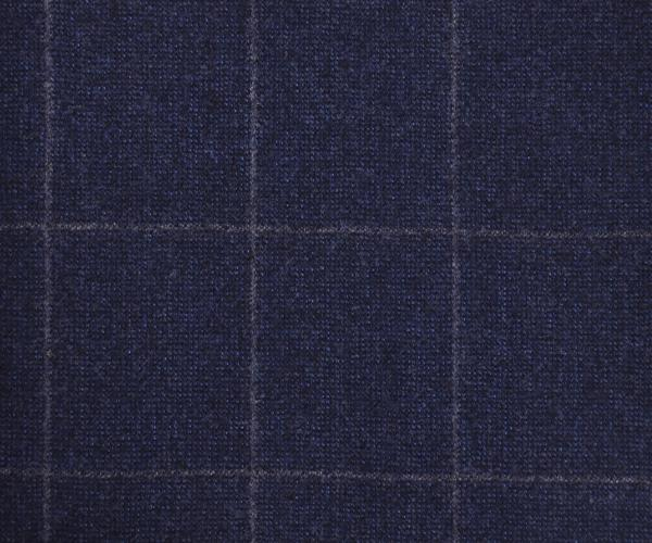 VBC 120's Woolen Blue Flannel Checks Premium Pant